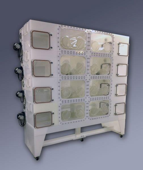 8 Individual Procedural Germ Free Isolators